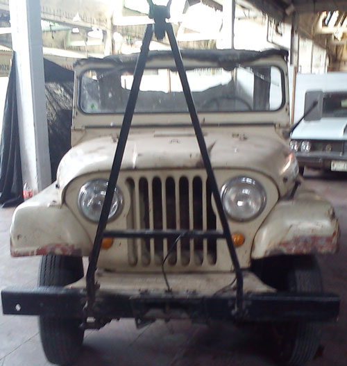 Car IKA Jeep 4x4 1972