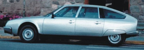 Car Citroen CX Athena