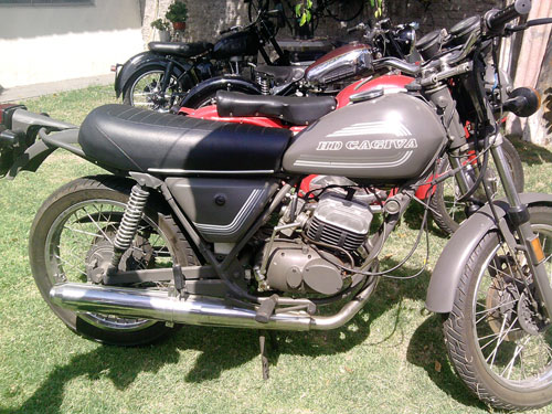 Motorcycle Cagiva HD 125 1986
