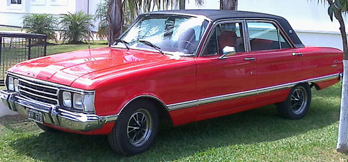Car Ford Falcon De Lujo 1973