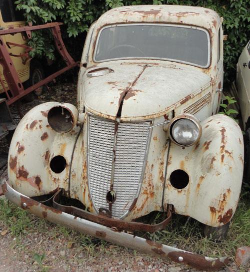 Car Audi 1937