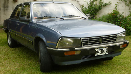 Car Peugeot 505 SR