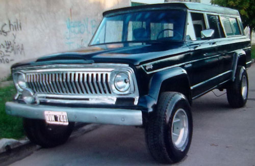 Car Jeep Gladiator T 80