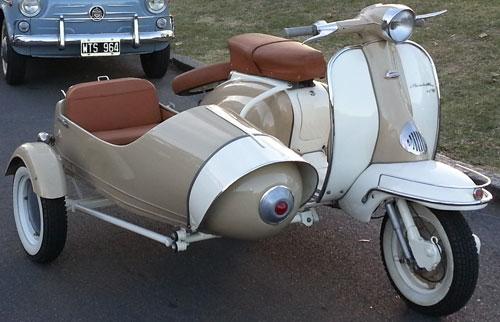 Motorcycle Siambretta TV 175