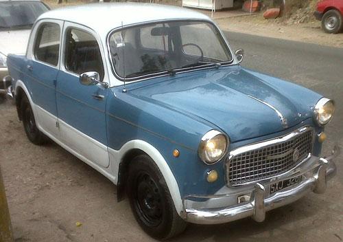 Auto Fiat 1959