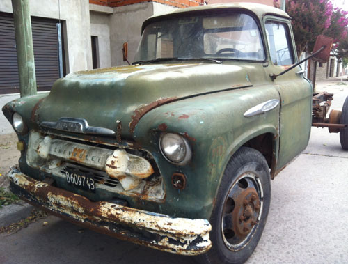 Car Chevrolet 1957 Camión