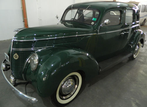 Car Ford Sedán 1938