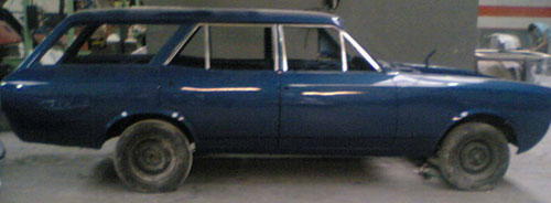Car Opel Rekord Caravan