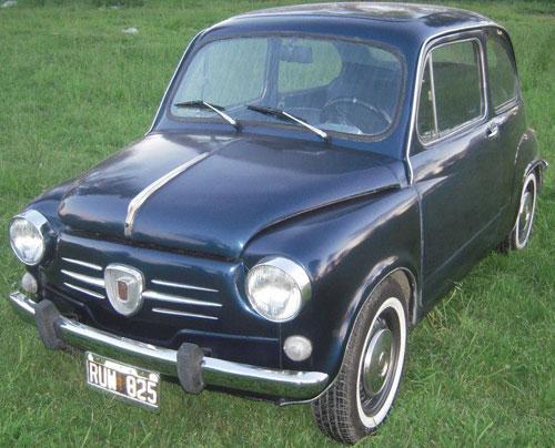 Auto Fiat 600 1981