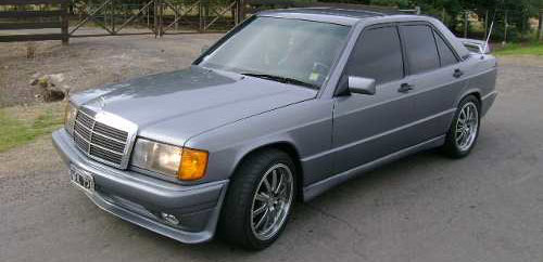 Car Mercedes Benz 190E 2.6 1994
