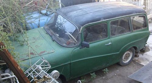 Auto Isard T- 700 Kombi 1961