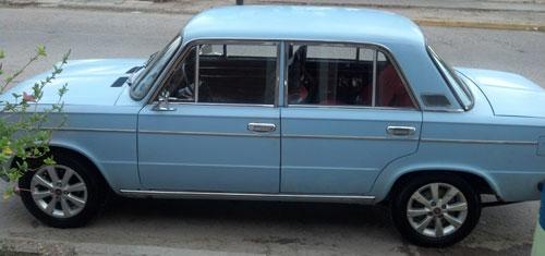 Car Fiat Berlina 125