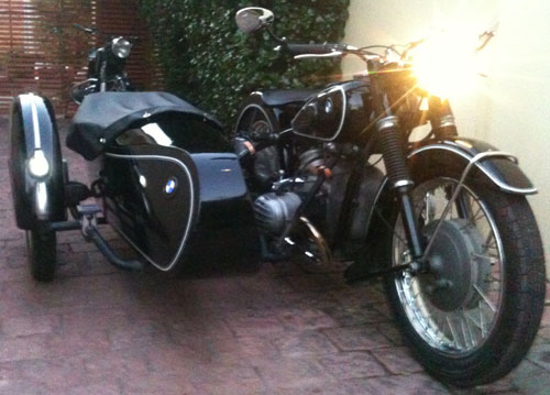 Motorcycle BMW R67/3