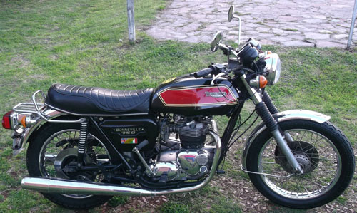 Moto Triumph Boneville 1980 Inglesa