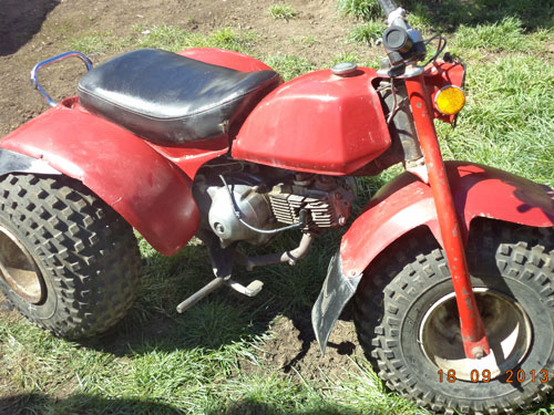 Moto Honda ATC 110