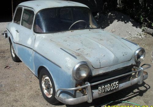 Car Isard 700 1958