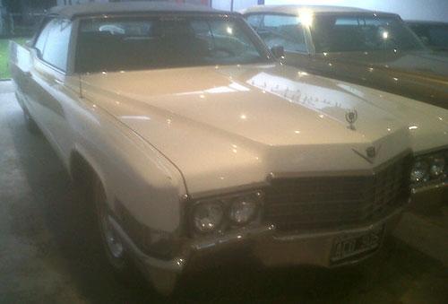 Auto Cadillac 1969