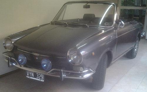 Car Fiat 800 Spider 1967