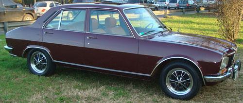 Car Peugeot 540 1978