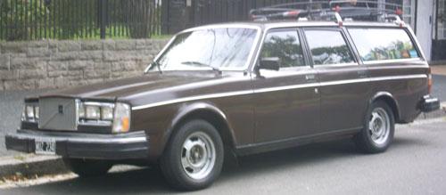 Car Volvo GL 245