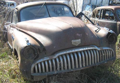 Auto Buick 1949