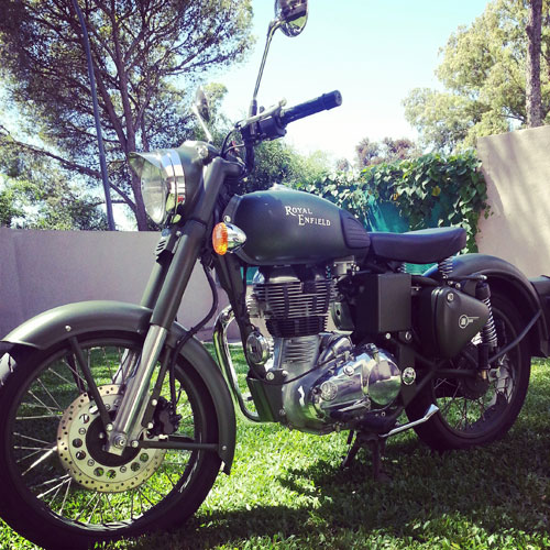 Car Royal Enfield Bullet 500 Military