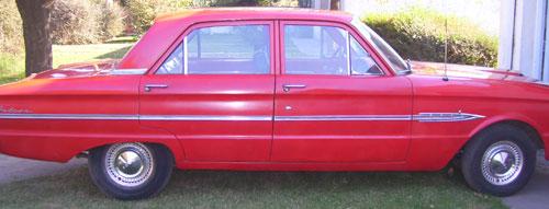 Auto Ford 1964