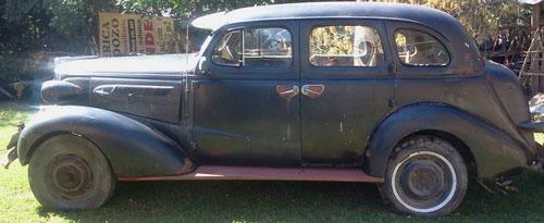 Car Chevrolet 1937