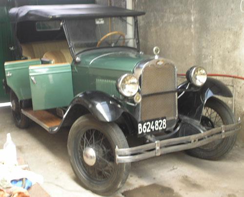 Auto Chevrolet Doble Phaeton 1927
