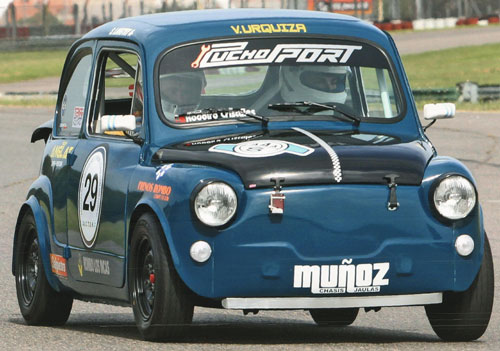 Auto Fiat 600 1961