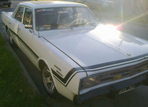 Car Dodge Polara 1971