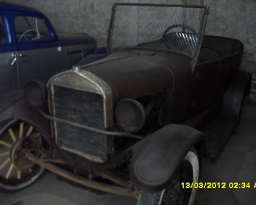 Auto Ford T 1928