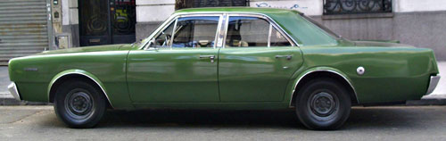Car Dodge Polara 1970