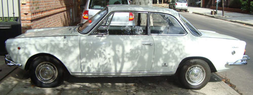 Auto Fiat 1500 Coupé