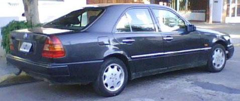 Car Mercedes Benz  C 180 Elegance1995