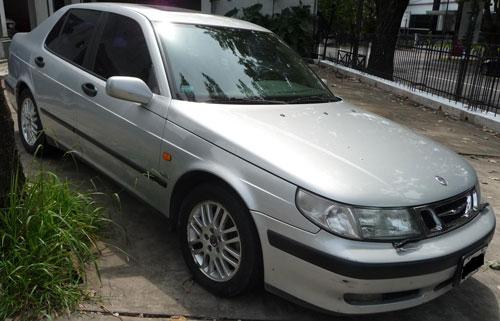 Auto Saab 95 Grifing