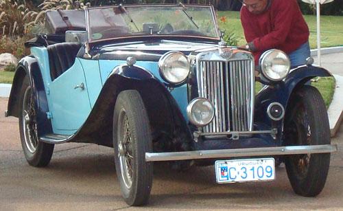 Auto MG TC 1946
