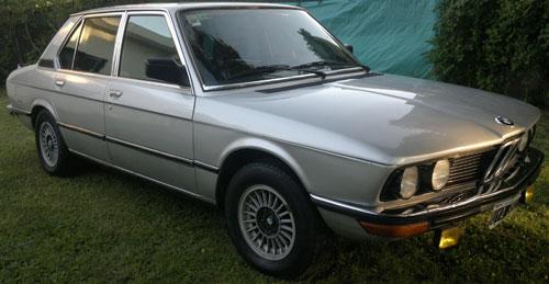Car BMW 520 A