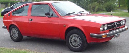 Car Alfa Romeo Alfasud Sprint 1,5