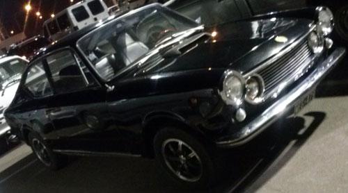 Car Fiat Coupé 1600 Sport