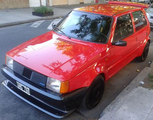 Car Fiat Uno E.F