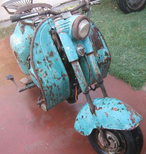 Moto Ciclón 1957