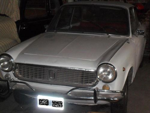 Car Fiat 1500 Coupé 1968