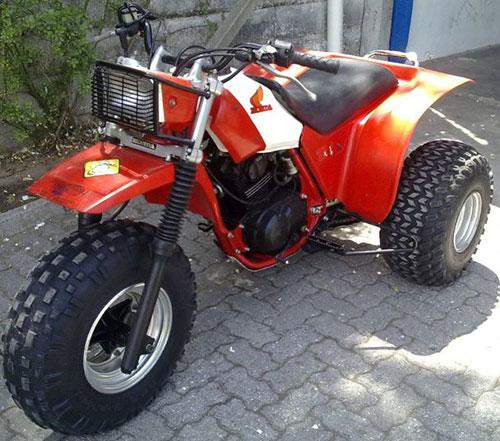 Motorcycle Honda ATC 200X