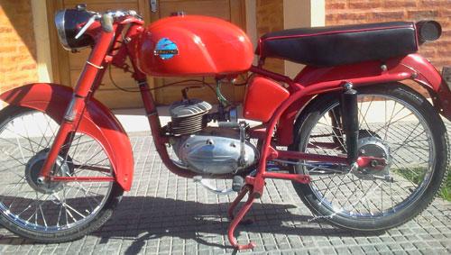 Motorcycle Zanella Ceccato 100