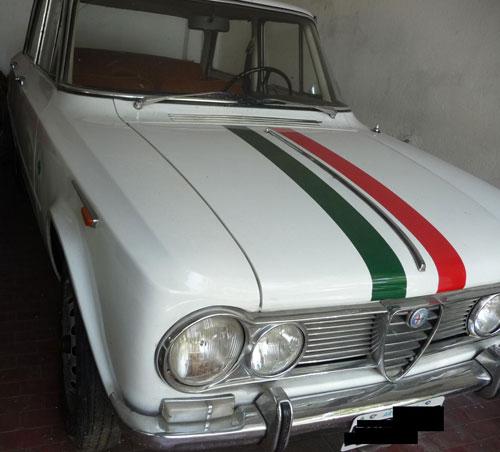 Car Alfa Romeo Giulia TI