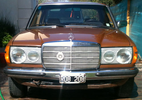 Car Mercedes Benz 200 W130