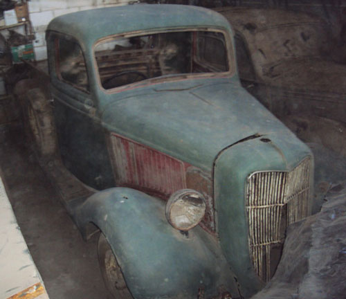 Auto Ford 1936 Pick Up