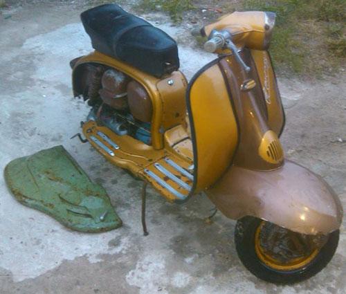 Moto Siambretta 1962