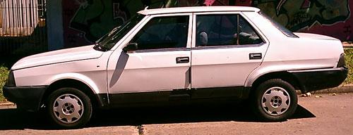 Car Fiat Regata 1985